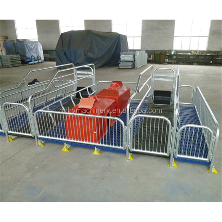 Sow Farrowing Crate Pig Farming อุปกรณ์