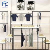 Custom good quality fashion retail clothes shop clothing store display furniture/showcase