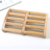 high quality  wooden personal foot care more rows wheels  foot massager