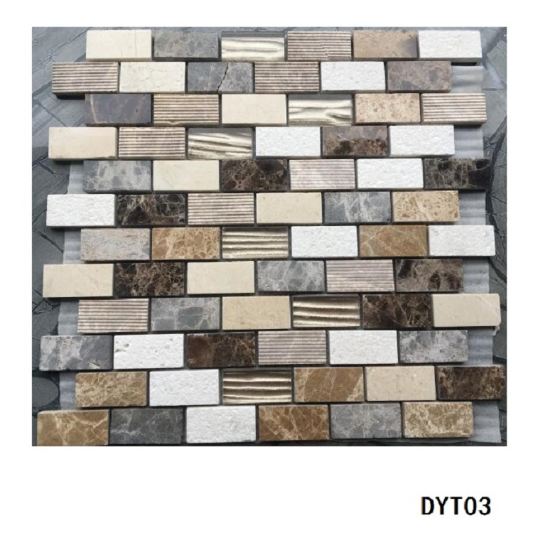 Hot Selling Natural Stone Mosaic marble mosaic glass mosaic Manufacture from Foshan China