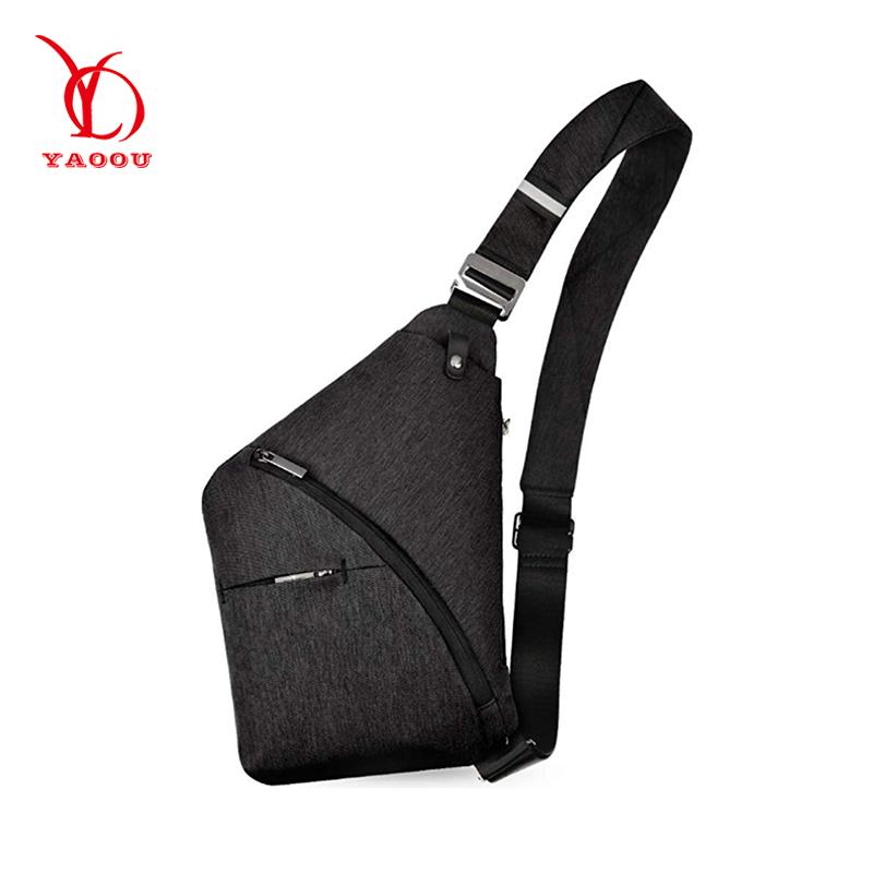 OEM outdoor reise leinwand sling handy schulter tasche crossbody kunden kreuz körper tasche herren umhängetasche