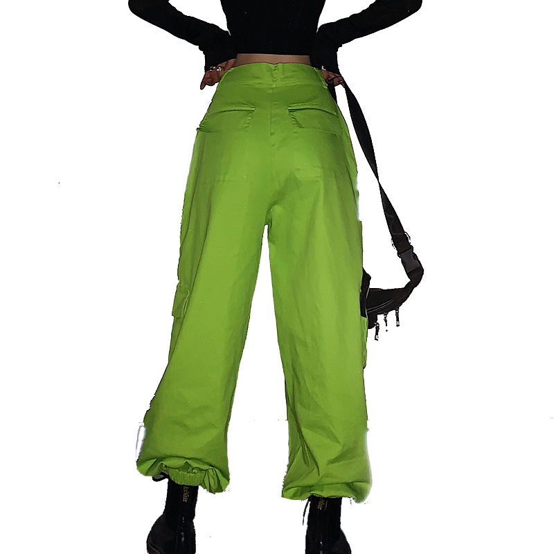 Hot cargo cargo Sweatpants Joggers Trousers Female Fashion Full Length pantalones Pants