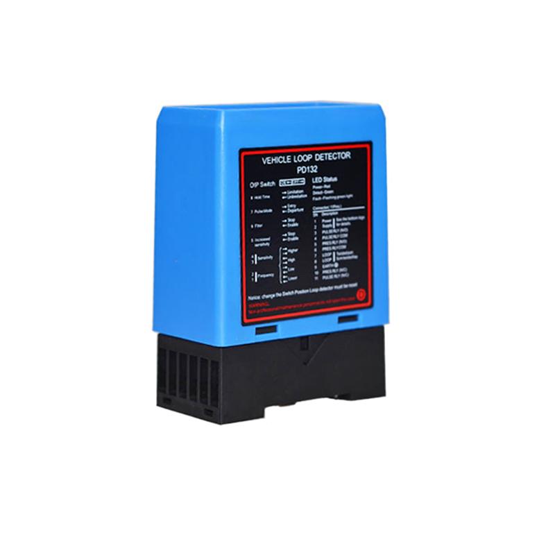 D/étecteur de v/éhicule /à boucle inductive /à canal unique pour le contr/ôle dacc/ès de parking D/étecteur de v/éhicule