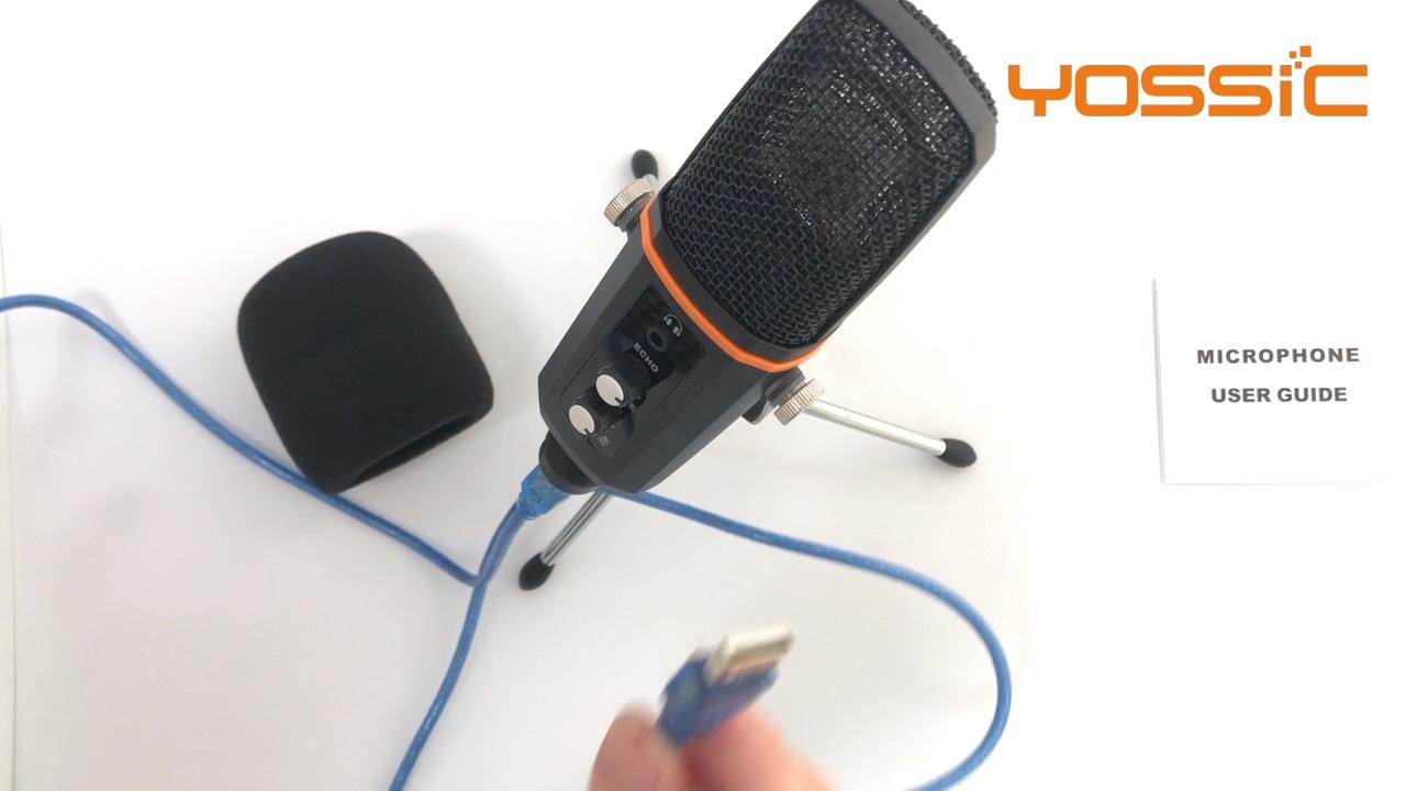 Mới, Hiệu Suất Cao Usb Condenser Microphone Cho Web Trò Chuyện Và Ca Hát