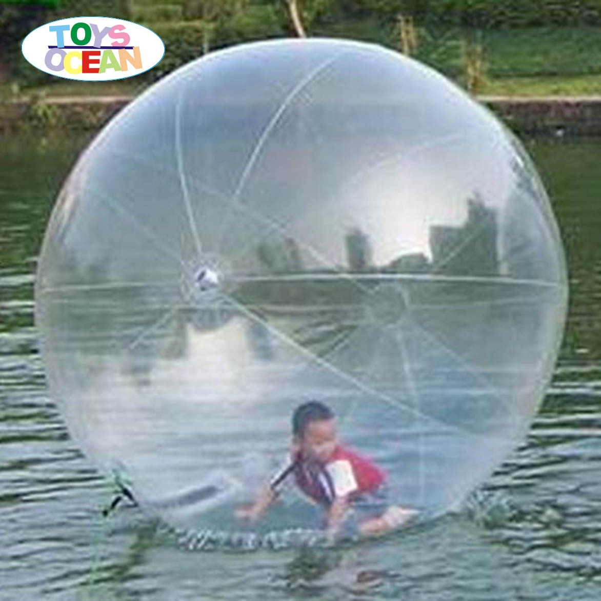 DIA1.5M Inflatable Water Walking Roller Ball