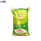 Laminated pp woven Basmati lowest price 10kg rice packaging Bag