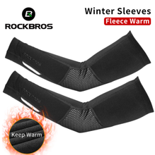 ROCKBROS <span class=keywords><strong>Winter</strong></span> Fleece Warm <span class=keywords><strong>Arm</strong></span> Mouwen Ademend Sport Elleboog Pads Fitness <span class=keywords><strong>Arm</strong></span> Covers Fietsen Running Basketbal <span class=keywords><strong>Arm</strong></span> Warmers 1
