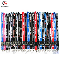 Wholesale Car Brand neck lanyards with custom logo