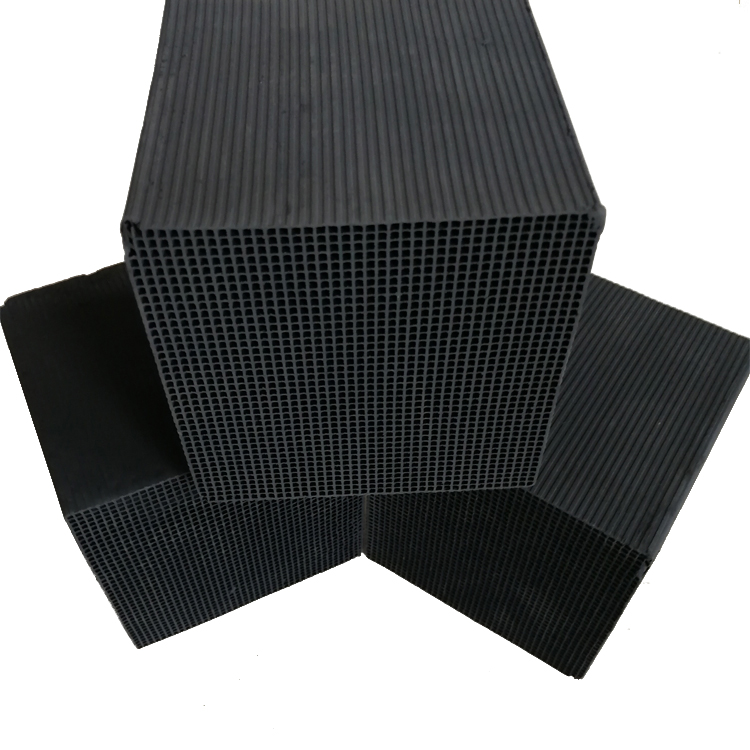 factory supply High ozone Adsorption  filter Square Coal Based Honeycomb Activated Carbon