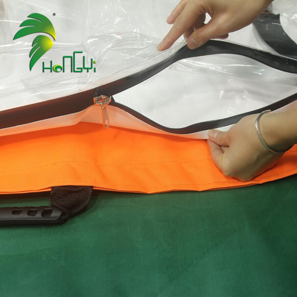 Customized PVC Inflatable medical air bag , inflatable disinfection bags for sale
