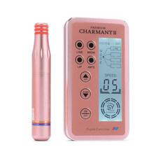 1 шт. новый дизайн цифровой Charmant 2 постоянные наборы для машинного макияжа для бровей губ роторная швейцарская микроблейдинг MTS ручка набор(Китай)