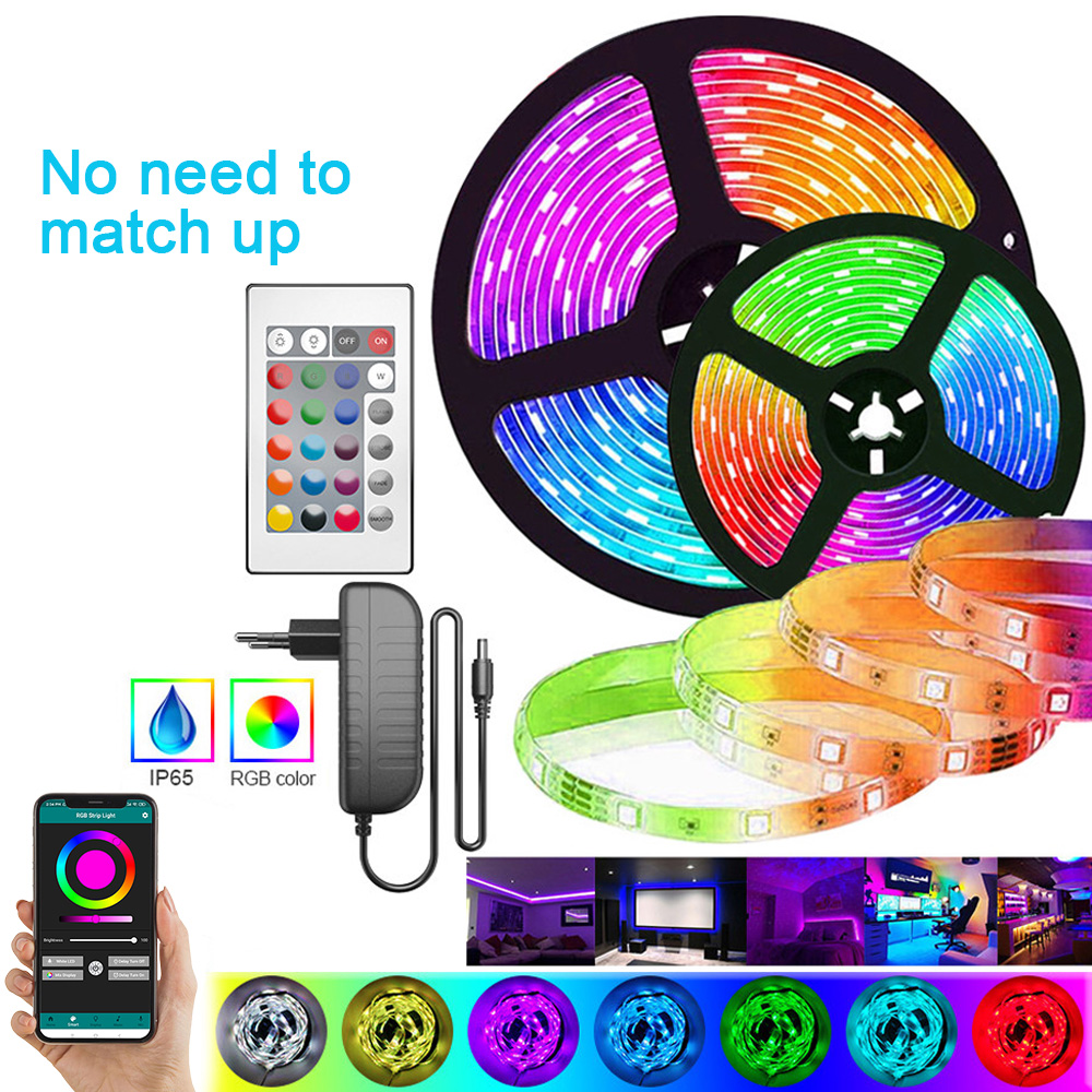 New Product 5M IR App Bluetooth Control No Need Match Led Strip Light