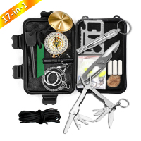 Other camping & hiking products equipment Wholesale military Emergency disaster survival kit gear tools Multifunctional bag