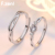 F.ZENI couples 925 sterling silver rings jewelry cz diamond couple wedding rings for couple