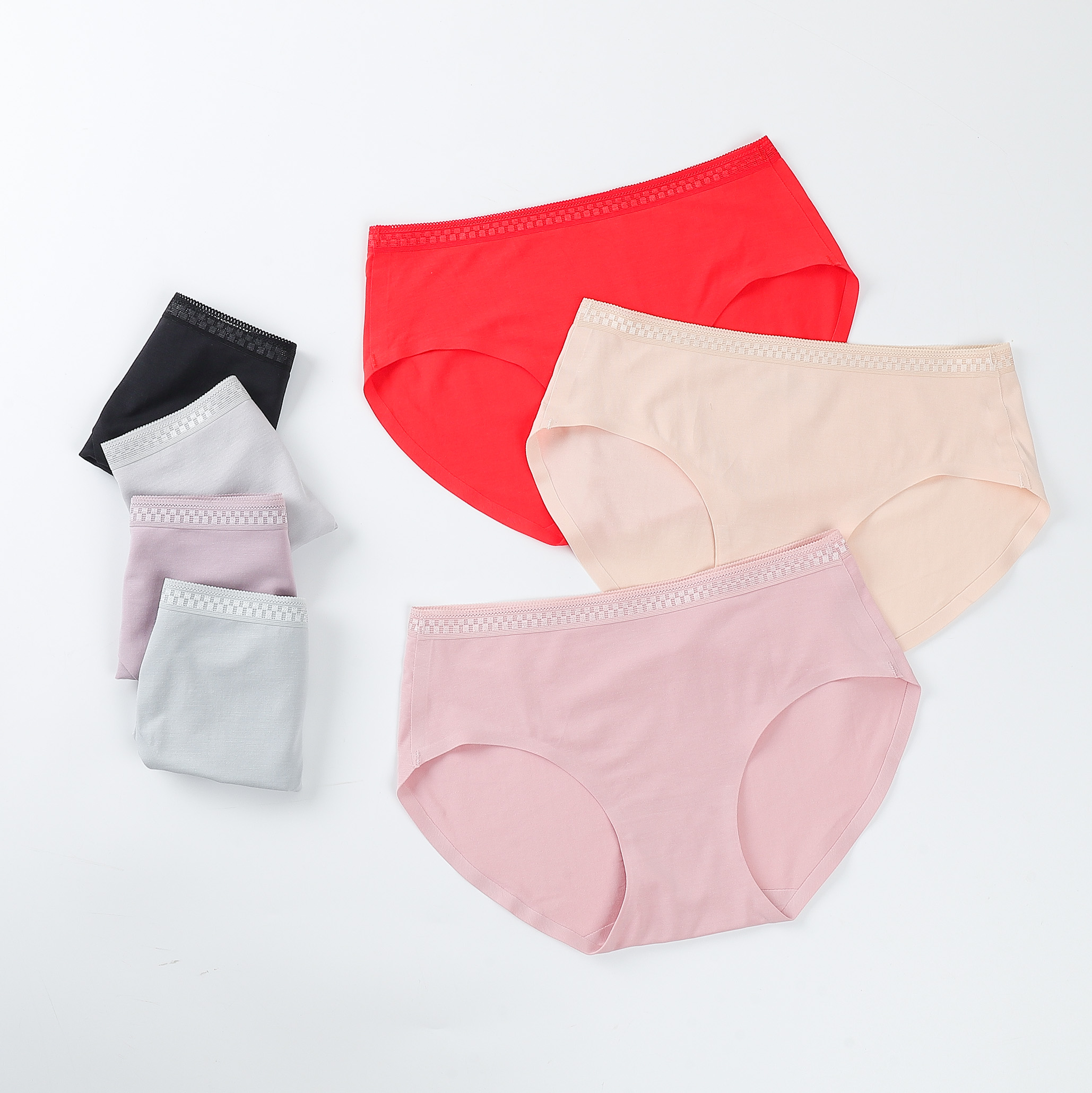 Wholesale women seamless underwear panty One Piece ice silk sexy girls ladies women's panties Seamless underwear
