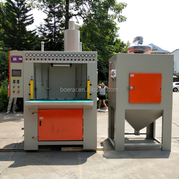rotary sandblasting machine / rotary table abrasive blast cleaning equipment