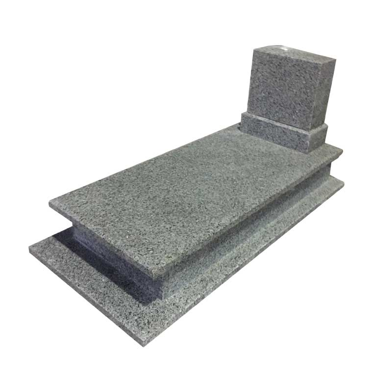 Blue Swan Granite Tombstone And Headstone For Poland Market