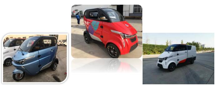 2020 नई कारों बिजली कार्गो वैन/यूरोप में बिक्री के लिए ईईसी के साथ उठाओ