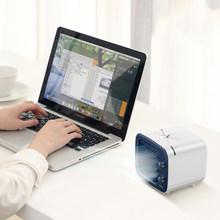 Baseus Мини Портативный Кондиционер USB вентилятор 3 скорости USB Удобный вентилятор воздушного охлаждения Настольный вентилятор охладителя воз...(China)