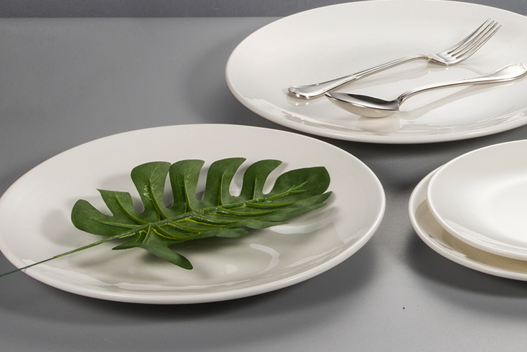 cake plates ceramic white