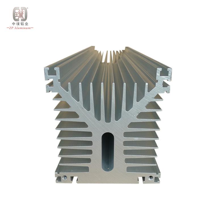 133mm aluminium pin fin heatsink radiator for power amplifier
