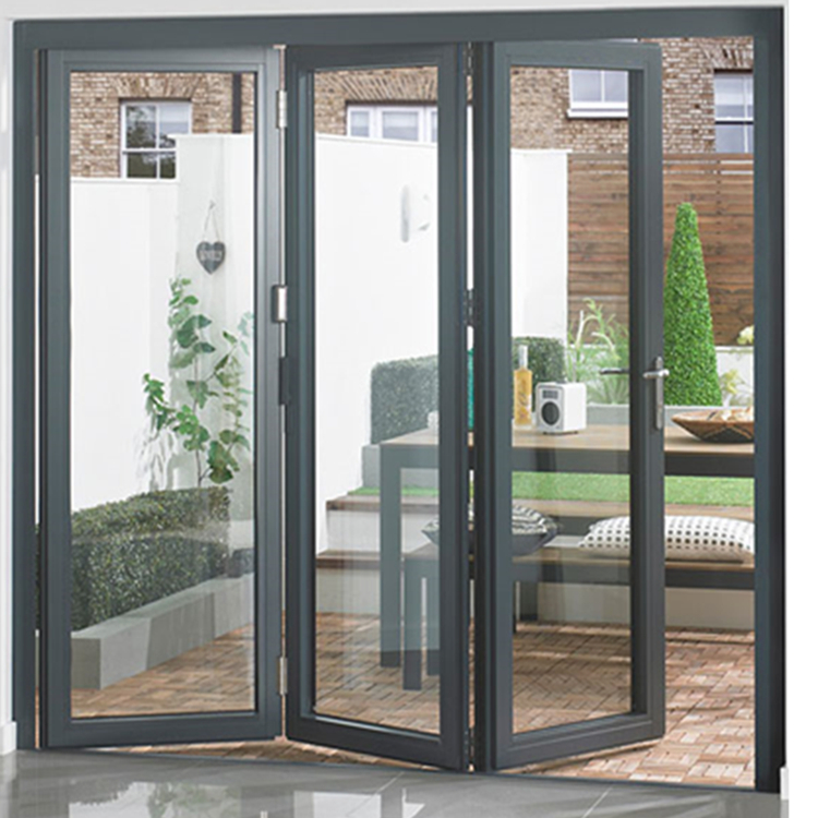 USA Cheap price AS2047 AS1288 AS2088 Certificate  Aluminum Frame Bi-fold door