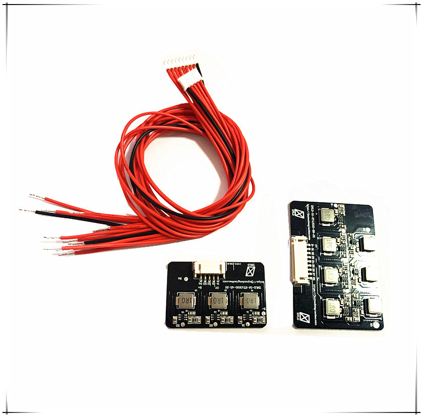 2s - 8s 1.2A Balance Li-ion Lifepo4 Lithium Battery Active Equalizer Balancer Inductive Energy Transfer Board BMS 3s 4s 5s 6s 7s