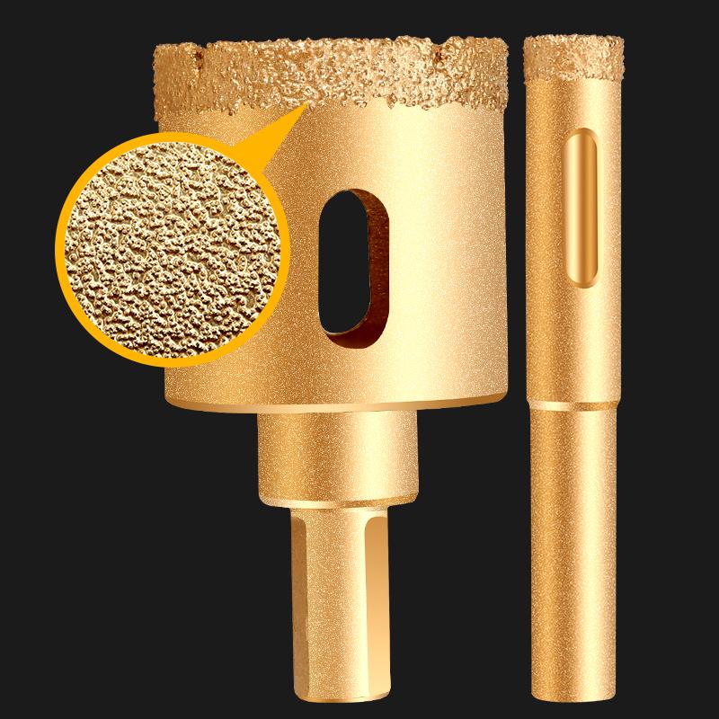 Elettrolitico del diamante nucleo drill bit Marmo hole saw cutter Diamante seghe a tazza