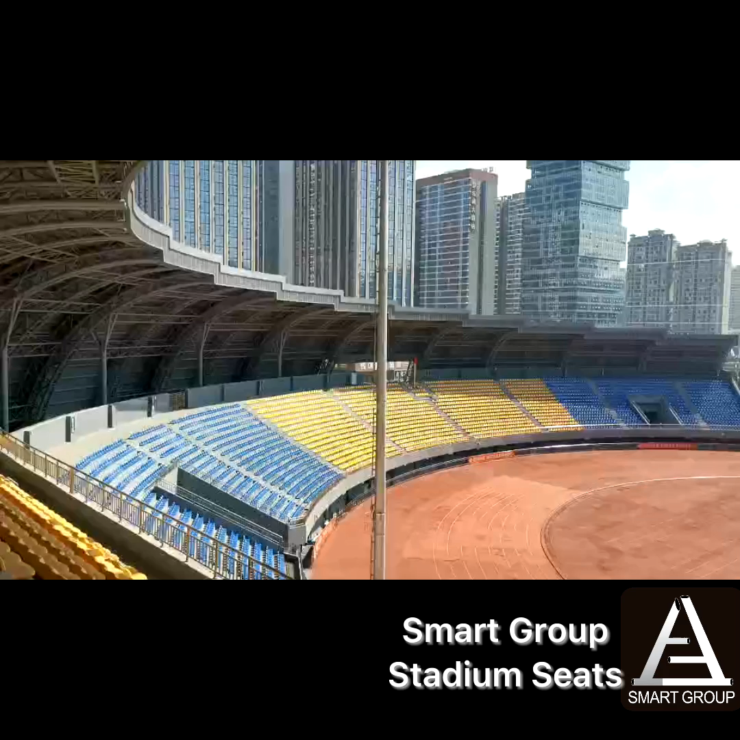 Manufacture Plastic Stadium Arena Venues Tribune Theater Swimming Pool Bleachers Spectator Seats