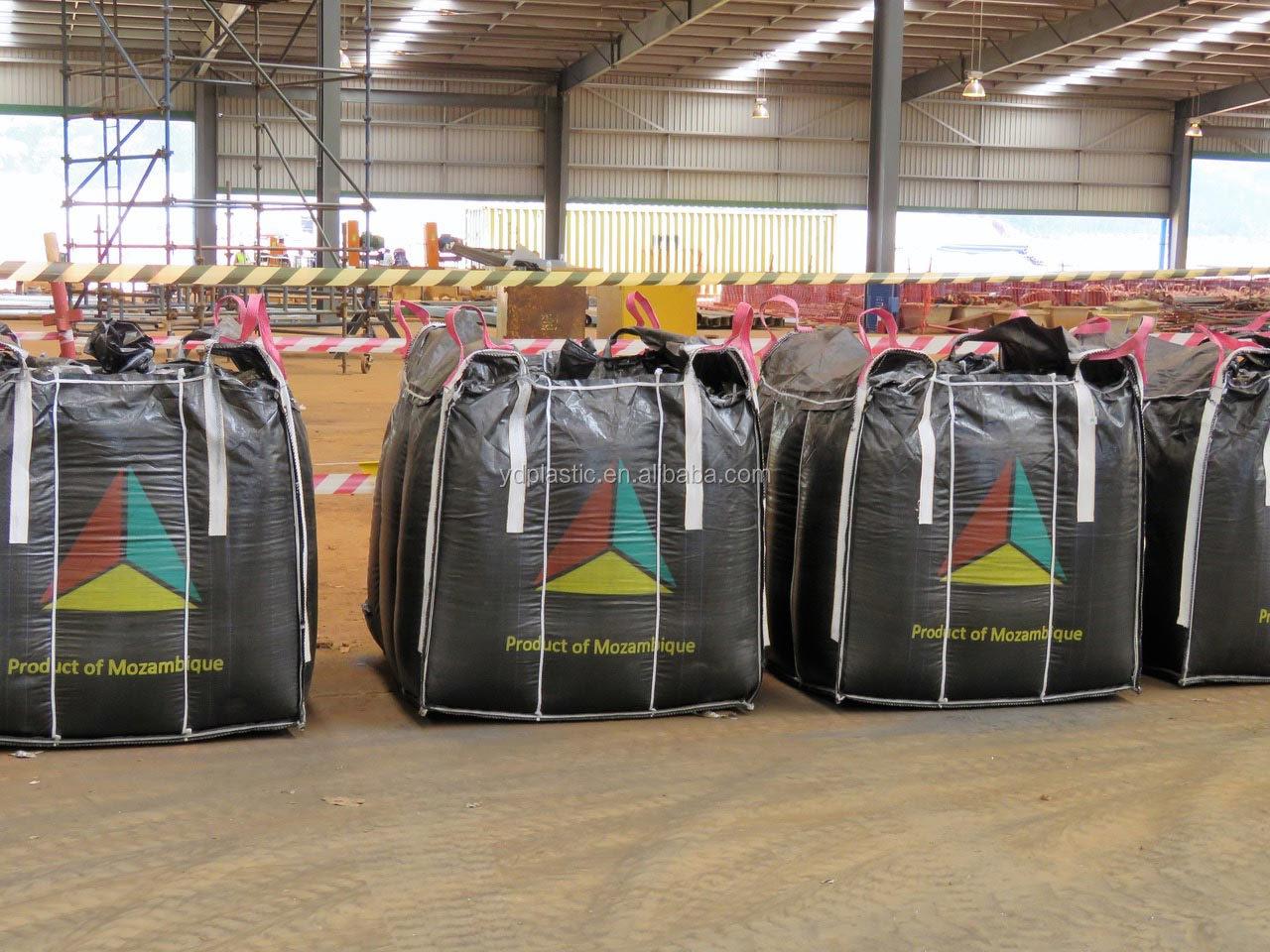 Jumbo Bag N330 Karbon Hitam Tas 2 Kali Dapat Digunakan Kembali Aspal Jumbo Bag 2ton 1ton untuk Carbon Black