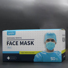 Blue Blue Disposable Mask Wholesale Blue Disposable Medical Protective 3Ply Nonwoven Sensi Disposable Mask 3 Ply