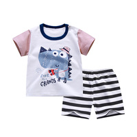 Baby Clothes Toddler Clothes Boys Girls Clothes Sets Short Sleeves Clothing Set