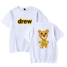 Mujer хлопковая уличная футболка для мужчин Джастин Бибер юмми Harajuku футболка женская футболка с коротким рукавом Blusas Mujer Boyfriend подарок(Китай)