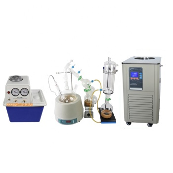 CBD Lab Extractor Distiller 5l Short Path Unit Molecular Essential Oil Distillation Equipment