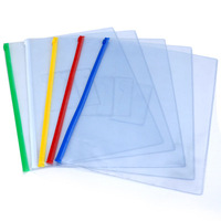Chinese Office and Stationery supplies Customized A4 Plastic PP document bag