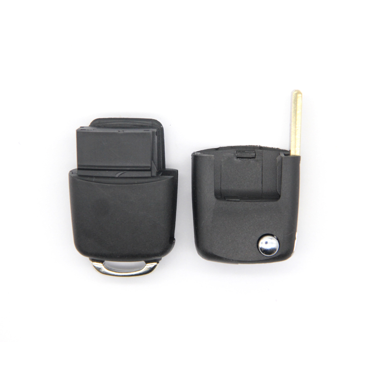 Hot Selling Smart Car Key Housing Durable Folding Car Key Case with Good Brass Key Blade 3 Buttons