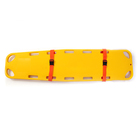High-strength floating plastic rescue stretcher, spine board stretcher