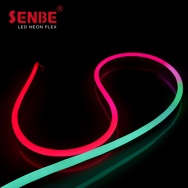 Senbe Lighting F21S International Golden Manufacturer PVC IP67 Sleeve DC24V Outdoor LED Strip Light
