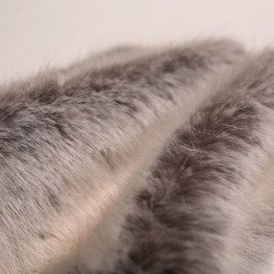 Customize Warm Soft Cheap Luxury Fox Faux Fur Fabric India