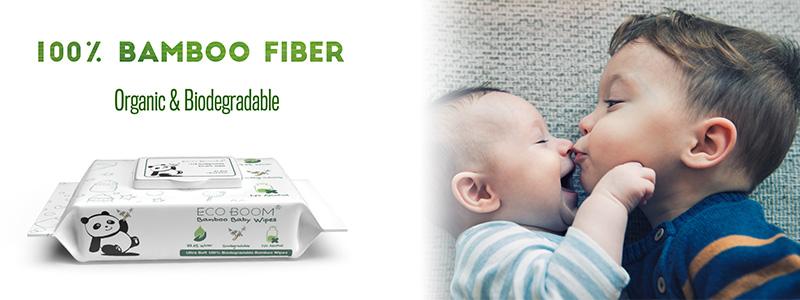 ECO BOOM 3-Layer Virgin Bamboo Pulp Bathroom Paper Roll Rolls Tissue Wood Pulp Material Premium Toilet Paper