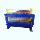 0.2-0.8mm corrugated roof tile steel building metal and roll forming machine