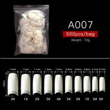 Модные накладные ногти RBAN с полным покрытием, накладные ногти, акриловые УФ-гелевые накладные маникюрные инструменты для ногтей(Китай)