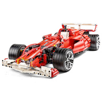 Simulation Model Formula One F1 Technic Toys 1:11 1275Pcs Plastic Building blocks Car