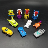 New product 2019 Eco-friendly Material Car Transform Robot Toy Transform Car Robot Mini Toy Car