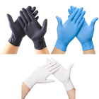 Spot black nitrile gloves Disposable Powder-Free Latex PVC Vinyl Gloves,Disposable PVC Gloves ,Disposable Latex Gloves