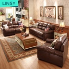 Wholesale Leather Sofa Sofas Factory Factory Price Wholesale Leather Classical Living Sofa For Sale