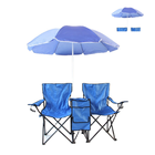 With Cooler Beach Double Folding Chair With Umbrella With Cooler Outdoor Beach Chair