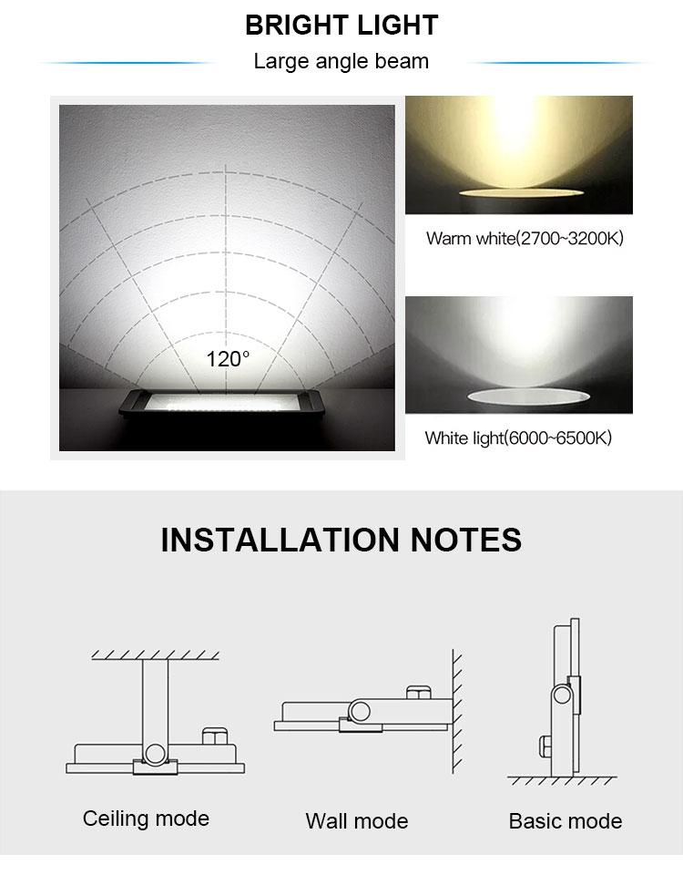 निविड़ अंधकार घर आउटडोर सौर उद्यान प्रकाश