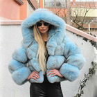 Fur Coats Coat Moodylime Hot Sale 2020 Women Winter Natural Fur Coats Real Trench Fox Faux Crop Fur Jacket Coat With Hooded