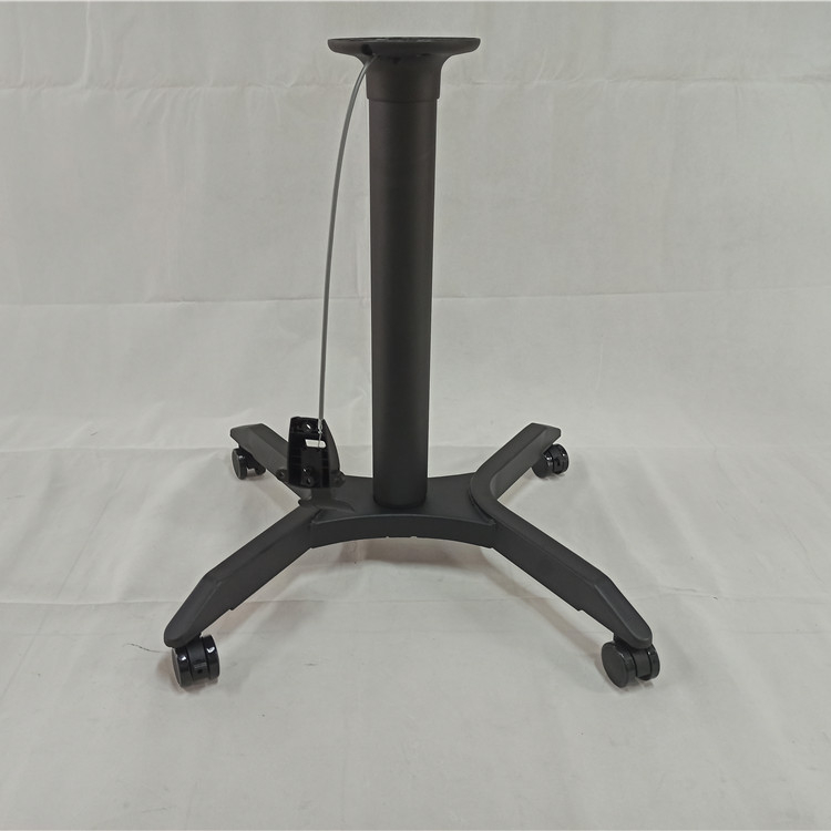 ready to ship coffee adjustable height gas lifting table base for coffee